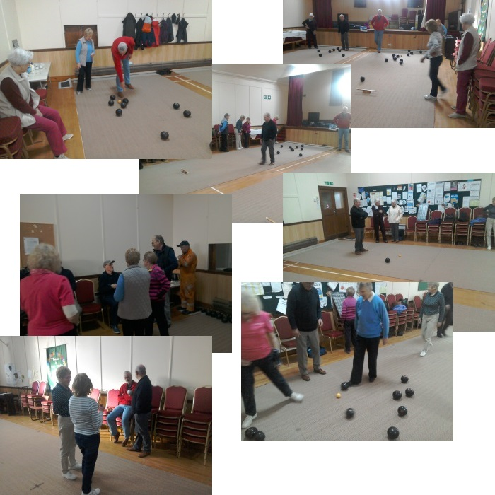 Indoor Bowling Group at St James' Church, Lossiemouth