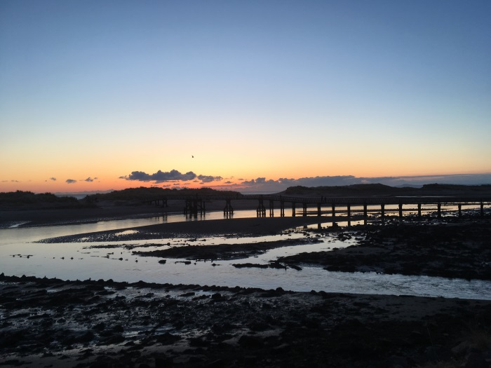 East Beach Bridge, Lossiemouth, Moray