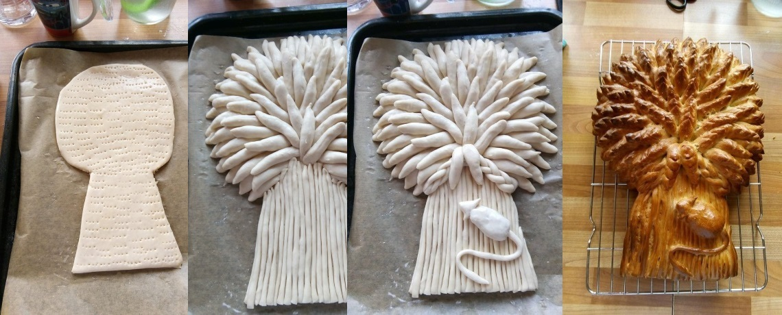 A Wheat Sheaf for Harvest Thanksgiving