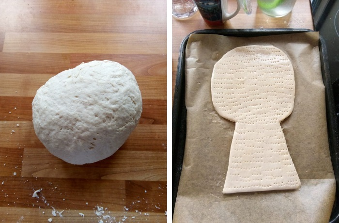 Making a Baked Wheat Sheaf: Stages 1 and 2
