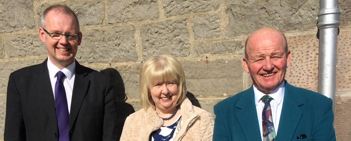 New elders ordained at St James' Church, Lossiemouth