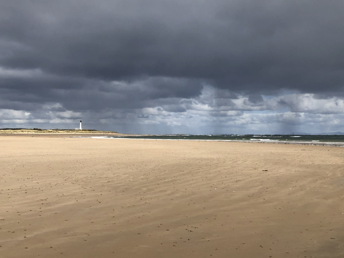 Miles of sand, West Beach, Lossiemouth