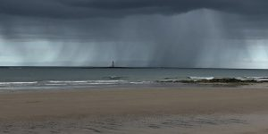 West Beach Offshore Shower, Lossiemouth